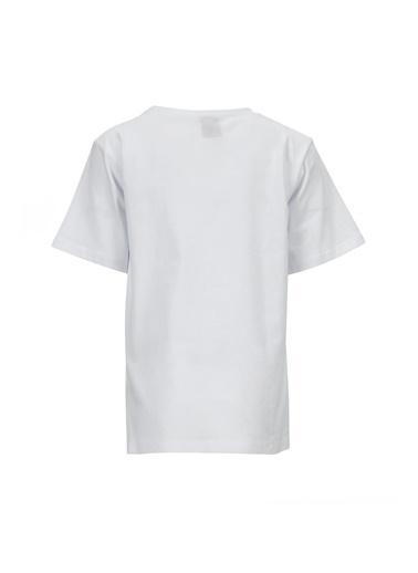 DeFacto Kız Çocuk Snoopy Lisanslı Kısa Kol T-shirt Beyaz